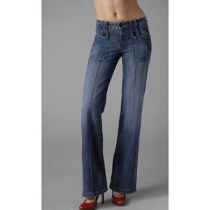 AG GOLDSIGN LUNA WIDE LEG JEANS *READ*